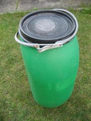 Gut Wasserfass, Futtertonne, Regenwassertonne, Kunststofffass, Fass  QJ75