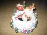 Weihnachten Weihnachtsmann Spieluhr zum Schnäppchenpreis