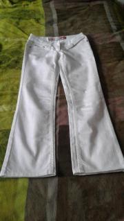 Weiße Damen Jeans