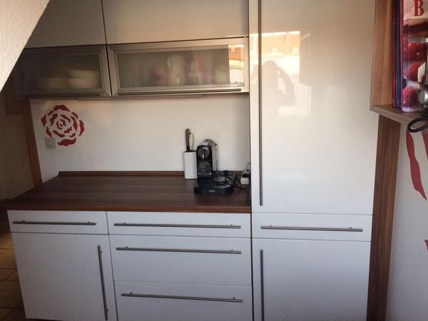 Weiße Hochglanz Küche In Nürnberg - Küchenzeilen, Anbauküchen
