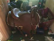 westernsattel mit Horn