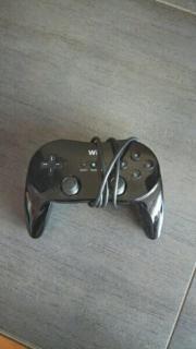 Wii Gamepad schwarz !!