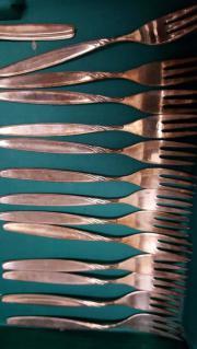 WMF 6 Personen Silberbesteck 30