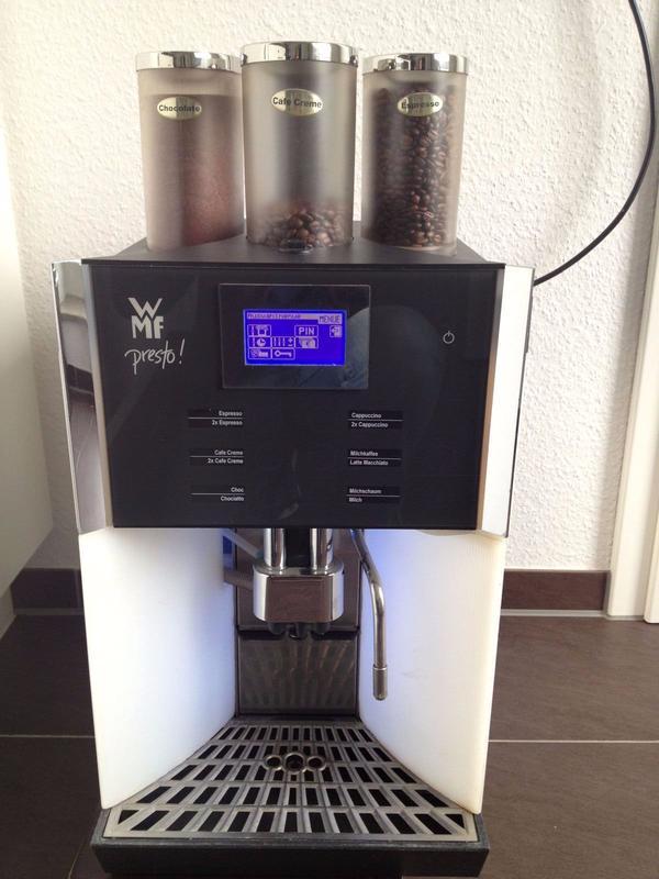 wmf kaffeemaschine presto typenreihe 1400 in m nster. Black Bedroom Furniture Sets. Home Design Ideas