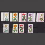 Wohlfahrts-Briefmarken Bund 1975 xx und