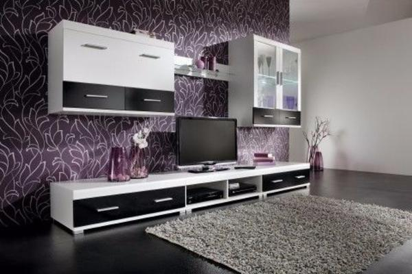 Wohnzimmer 3x Schränken 2x Hängeschränke schwarz/weiß, gebraucht gebraucht kaufen  90556 Cadolzburg