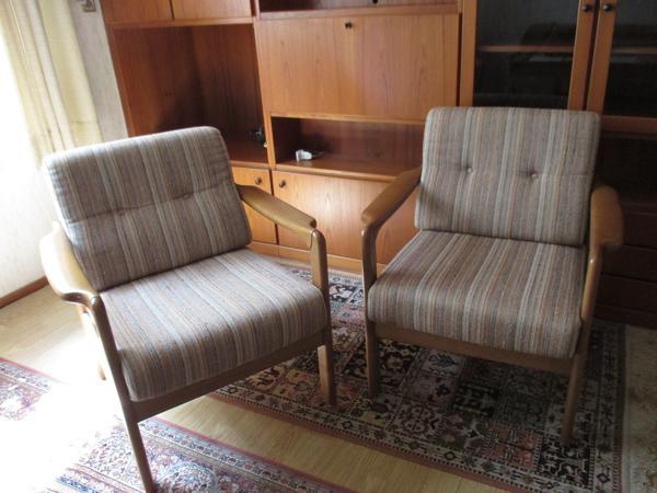 Wohnzimmer Sitzgarnitur Mit Polster Sessel Couch