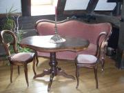 Wohnzimmer Sofagarnitur Canape - Tisch und