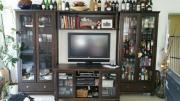 Wohnzimmereinrichtung Vitrine TV
