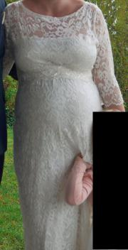 Wunderschönes Umstands-Brautkleid