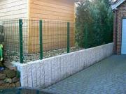 Zaun Montagen vom