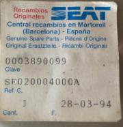 Zylinderkopfdichtung Seat Marbella
